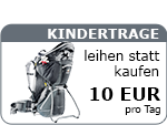 Kindertrage leihen