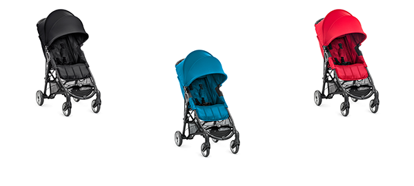 baby jogger CITY MINI™ ZIP 2014 in Black, Teal und Red