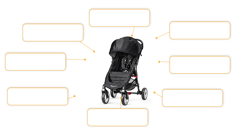 baby jogger CITY MINI™ double in black