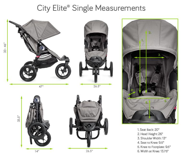 Spezifikationen von Baby Jogger city elite