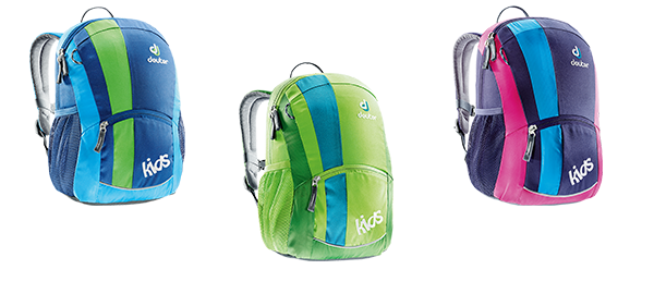 Deuter Kids in Blueberry, Petrol und kiwi
