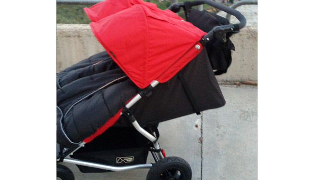 Mountain Buggy Duet V2.5 Zwillings-Kinderwagen 2015 Chilli
