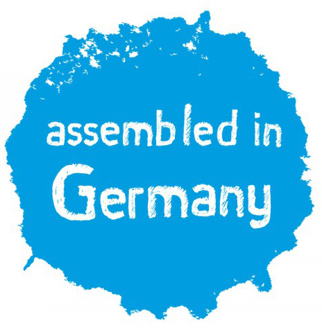 Assembled in Germany