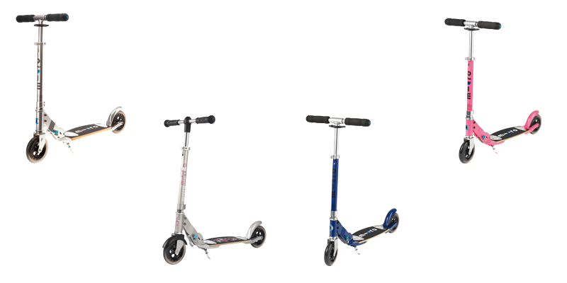 Micro Scooter Flex in 145, Lady, Saphirblau und Pink