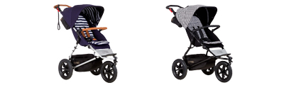 Mountain Buggy Urban Jungle in Nautical und Pepita