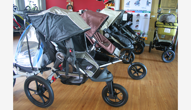 Baby Jogger und Mountain Buggy Kinderwagen