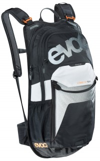 evoc Stage 12L Team Rucksack in Black-White-Neon-Orange – Bild 1