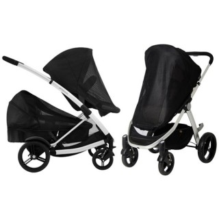 Mountain Buggy Cosmopolitan und Smart lux Sun Cover – Bild 2