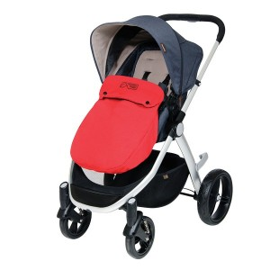 Mountain Buggy Cosmopolitan Beindecke Cosy Toe chilli rot – Bild 3