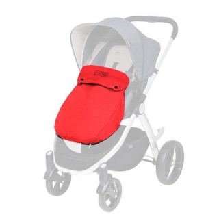Mountain Buggy Cosmopolitan Beindecke Cosy Toe chilli rot – Bild 1