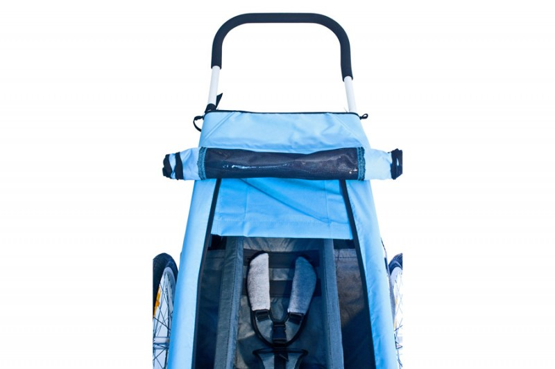 Croozer Sun Cover blau für Kid for 1 2008-2013 – Bild