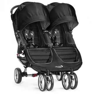 baby jogger CITY MINI™ Double 2017 - black/black – Bild 1