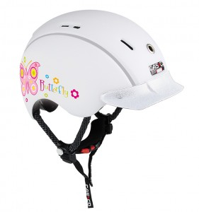 CASCO Mini-Generation Schmetterling - Kinderfahrradhelm 2017 001