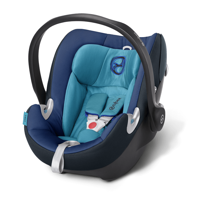 Cybex Aton Q Kindersitz True Blue 2015 – Bild