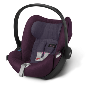 Cybex Cloud Q Plus Kindersitz Grape...