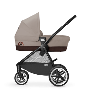Cybex Eternis M4 Kinderwagen Coffee Bean – Bild 4