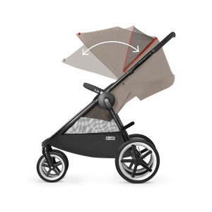 Cybex Eternis M4 Kinderwagen Coffee Bean – Bild 5