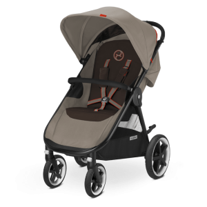 Cybex Eternis M4 Kinderwagen Coffee Bean – Bild 1