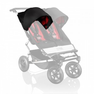 Mountain Buggy Sonnendach / sunhood für Duet black/chilli V2.5 2014 rechts 001