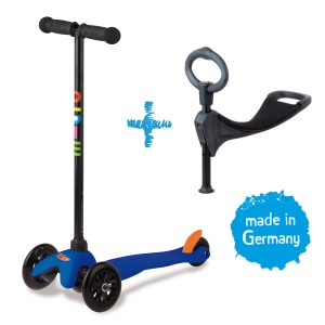 Mini Micro 3in1 Kinderroller Blau – Bild 1