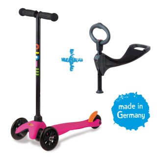 Mini Micro 3in1 Kinderroller Pink – Bild 1