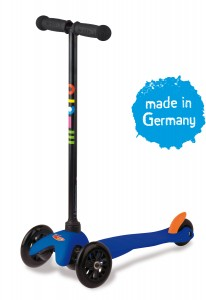 Mini Micro Kinderroller sporty Blau – Bild 1