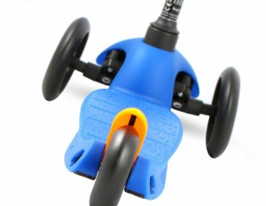 Mini Micro Kinderroller sporty Blau – Bild 3