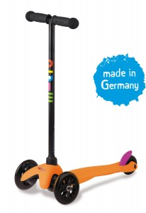 Mini Micro Kinderroller sporty Neon...