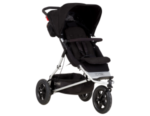 Mountain Buggy +one 2017 Stroller Black