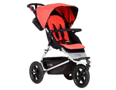 Mountain Buggy Urban Jungle 2017 Kinderwagen Coral – Bild 1
