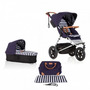 Mountain Buggy Urban Jungle 2017 NEW luxury collection bundle Nautical Neu 001