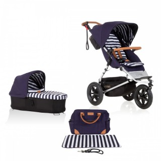 Mountain Buggy Urban Jungle 2017 NEW luxury collection bundle Nautical Neu – Bild 1