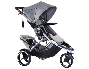 phil & teds Dash Kinderwagen 2017 grey marl – Bild 2