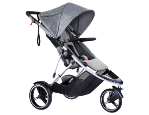 phil & teds Dash Kinderwagen 2017 grey...