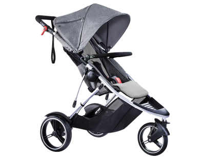 phil & teds Dash Kinderwagen 2017 grey marl – Bild 1