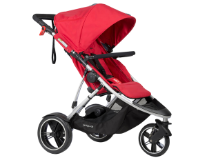 phil & teds Dash Kinderwagen 2017 red