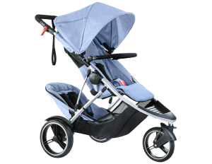 phil & teds Dash Kinderwagen 2017 blue marl  – Bild 2