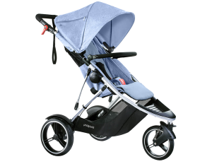 phil & teds Dash Kinderwagen 2017 blue...
