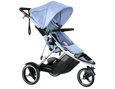 phil & teds Dash Kinderwagen 2017 blue marl  – Bild 1
