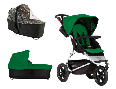 Mountain Buggy Urban Jungle 2015 Bundle Fern – Bild 1