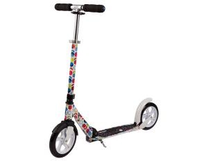 Micro Scooter White Floral Roller SA0052