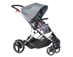 Phil & Teds Voyager Buggy grey marl 2017