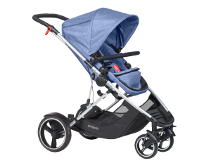 Phil & Teds Voyager Buggy blue marl 2018