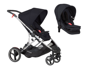 Kinderwagen Phil & Teds Voyager double kit bundle black 2017