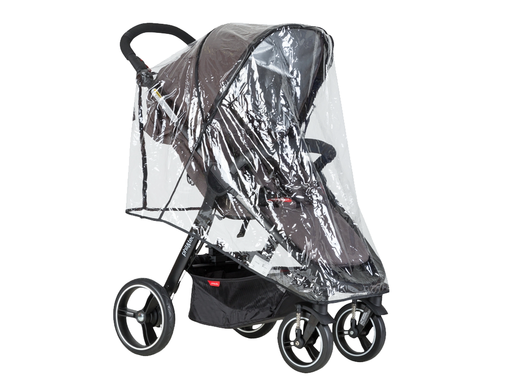 phil & teds Smart Buggy 2016 Storm Cover – Bild