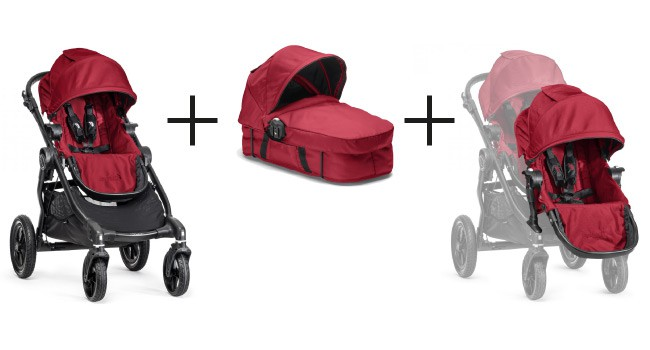 Baby Jogger CITY SELECT Premiumpaket  Red – Bild