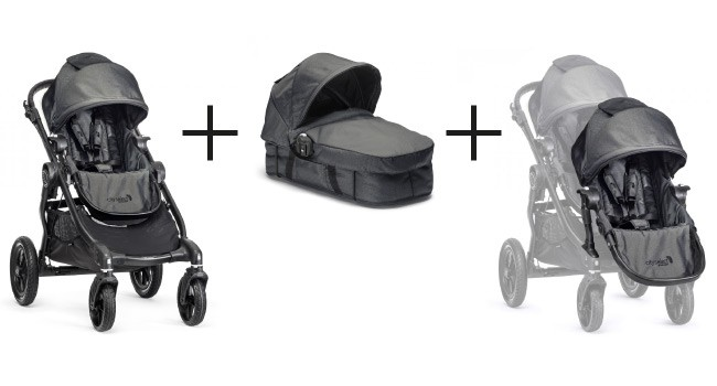Baby Jogger CITY SELECT Premiumpaket  Black Denim – Bild