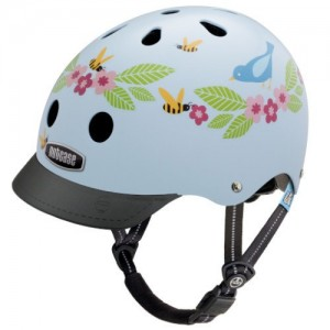 Nutcase Little Nutty Bluebirds and Bees Kinderhelm 001