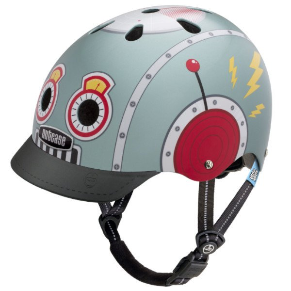 Nutcase Little Nutty Tin Robot Kinderhelm – Bild